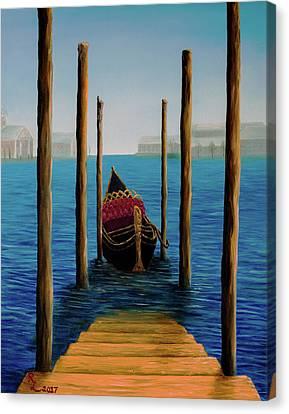 Romantic Solitude Canvas Print