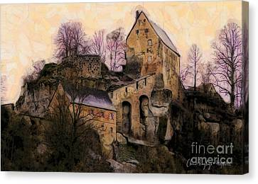 Ruined Castle Canvas Print