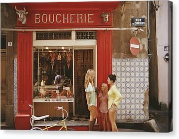 Saint-tropez Boucherie Canvas Print