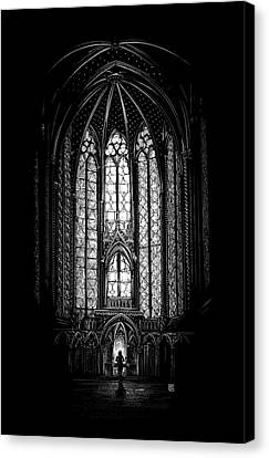 Sainte-chapelle Canvas Print