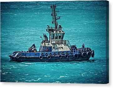 Salvage Tug Boat Canvas Print