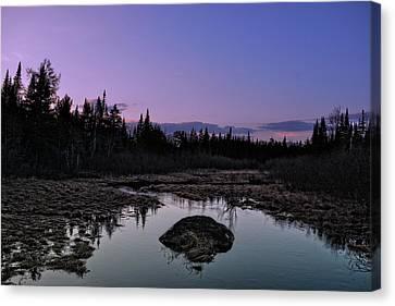 Serene Adirondack Sunset Canvas Print
