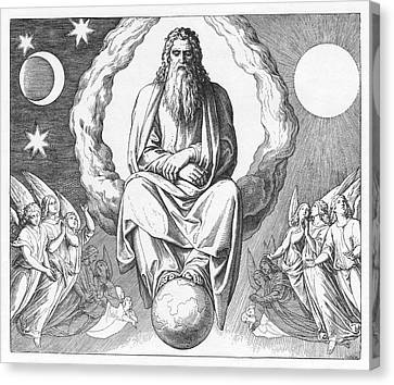 Seventh Day Of Creation, Genesis Canvas Print