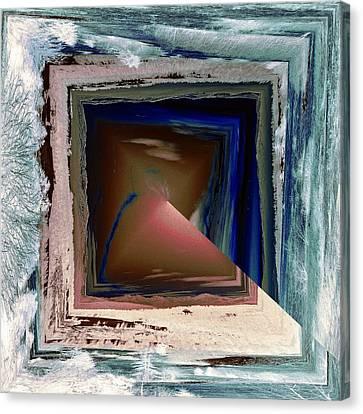 Canvas Print featuring the digital art Shaft by Robert G Kernodle