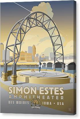 Simon Estes Amphitheater Canvas Print
