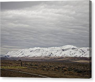 Snowy Granite Mountains Nevada Canvas Print