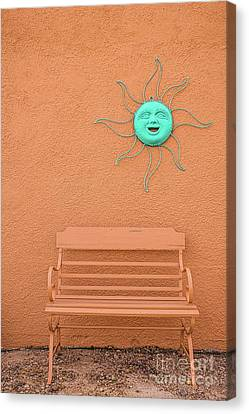 Southwestern Bench  Canvas Print
