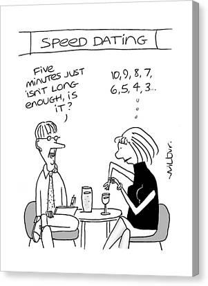 Speed Dating Canvas Prints Fine Art America