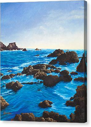 Stillwater Cove Canvas Print