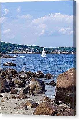 Summer In New England  Canvas Print