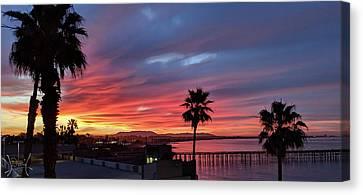Sunrise In Ventura California Canvas Print