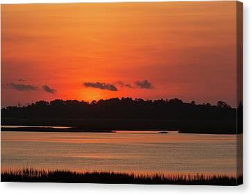 Sunrise Over Drunken Jack Island Canvas Print