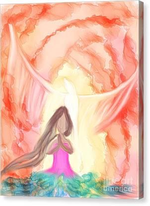 Sweet Hour Of Prayer Canvas Print