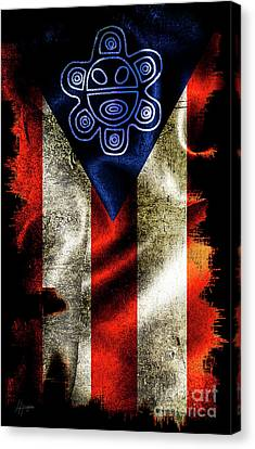 Taino Flag Canvas Print
