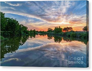 Texas Hill Country Sunset Canvas Print