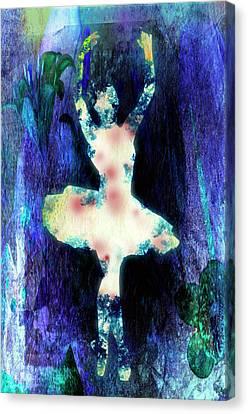 The Ballet Dancer Canvas Print