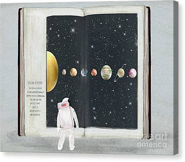 The Big Book Of Stars Canvas Print by Bri Buckley