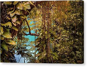 The Blue Lagoon Canvas Print