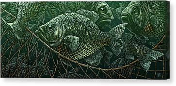 The Catch Canvas Print