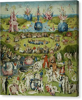 Garden Of Earthly Delights Canvas Prints Fine Art America