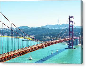 The Golden Gate Bridge I Canvas Print
