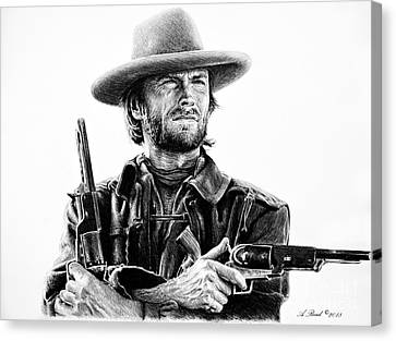 The Gunfighter Josey Wales Canvas Print
