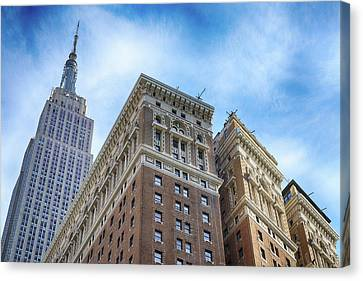 The Herald Towers Canvas Print
