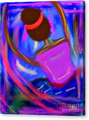 The Intercessor Canvas Print
