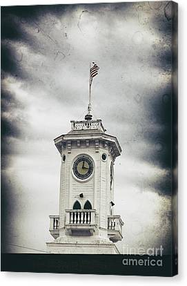 The Old Clocktower  Canvas Print by Steven Digman
