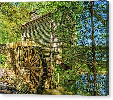 The Stone Mountain Grist Mill Canvas Print
