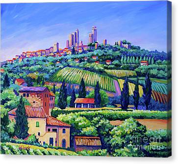 Italian Landscape Canvas Prints Fine Art America