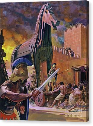 The Trojan War Canvas Prints | Fine Art America
