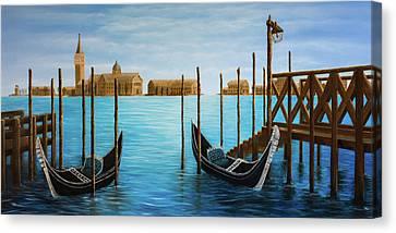 The Venetian Phoenix Canvas Print