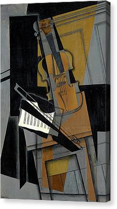 Pablo Picasso Violin and Guitar PHOTO Art Print of 1912 Painting Music Decor