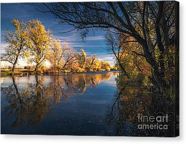 Thousand Faces Of Autumn Canvas Print