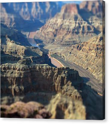 Tiltshifted Grand Canyon Canvas Print