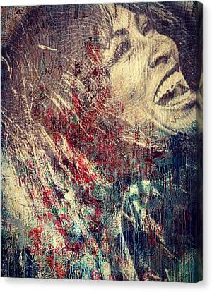 Tina Turner Spirit  Canvas Print
