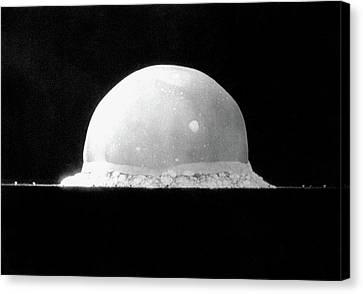 Trinity Nuclear Test Bomb Fireball - 1945 Canvas Print