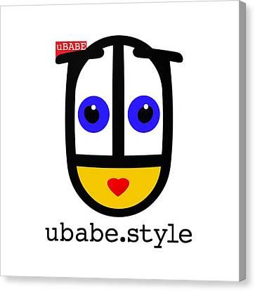 Ubabe De Stijl Canvas Print