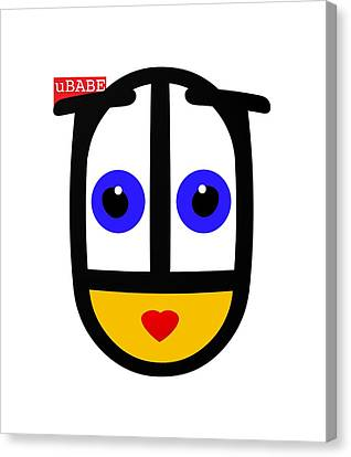 uBABE Logo Canvas Print