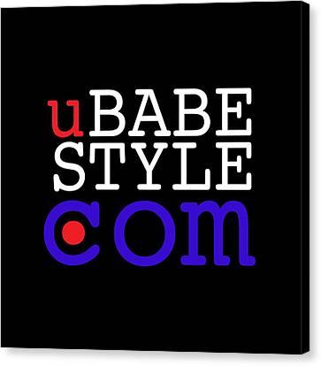 Ubabe Style Dot Com Canvas Print