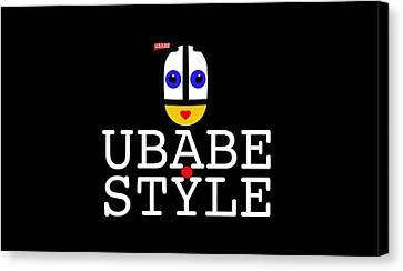 Ubabe Style Url Canvas Print