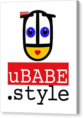 Ubabe T Shirt Canvas Print