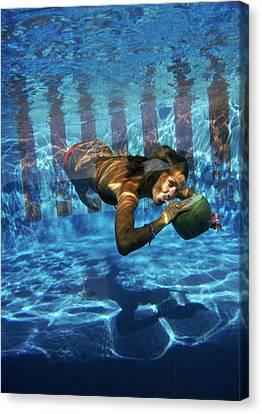 Underwater Drink Canvas Print