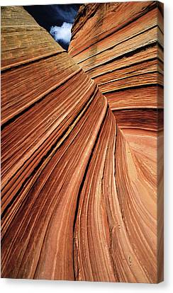 Usa, Arizona, Vermilion Cliffs National Canvas Print by Philippe Bourseiller