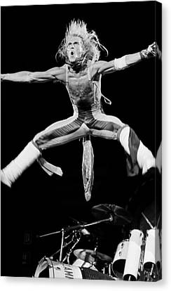 Van Halen In Concert At The Forum Canvas Print by George Rose