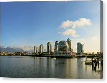 Vancouver Science World Canvas Print