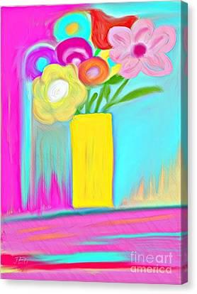Vase Of Life Canvas Print