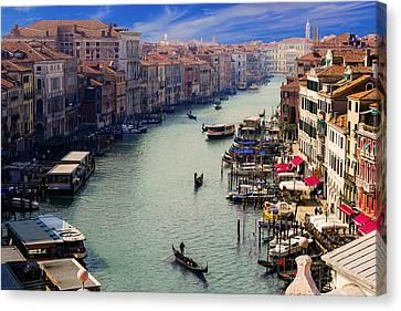 Venice Canale Canvas Print
