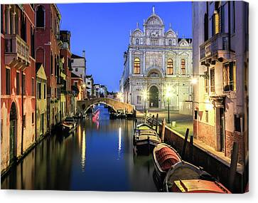Canal Grande Canvas Prints Page 4 Of 25 Fine Art America
